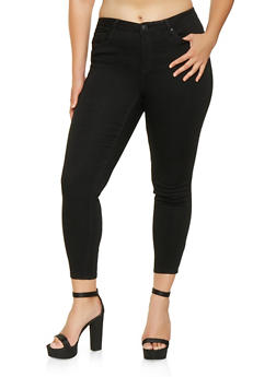 Plus Size Almost Famous Push Up Jeans - 3870015992040