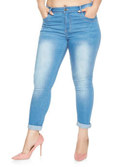 Plus Size VIP Push Up Skinny Jeans - 3870065300029