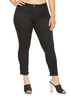 Plus Size VIP Push Up Skinny Jeans - 3870065302731