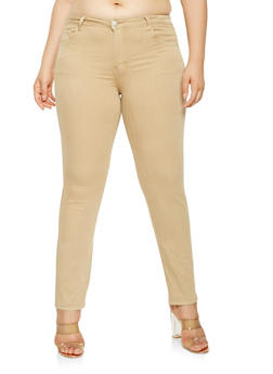 Plus Size VIP Skinny Jeans - 3870065306750