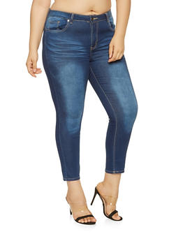 Plus Size VIP Push Up Jeans - 3870065308390