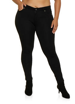 Plus Size Ponte Push Up Pants | 3870068194545 - 3870068194545