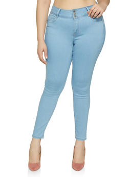 Plus Size WAX Push Up Jeans | 3870071610040 - 3870071610040