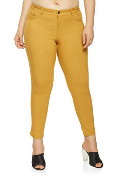 Plus Size Hyperstretch Push Up Pants - 3874056571991