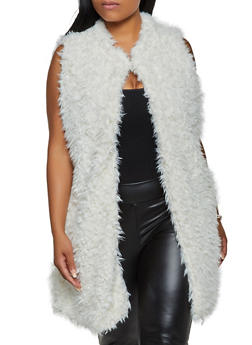 Plus Size Faux Fur Vest | 3884038340106 - 3884038340106