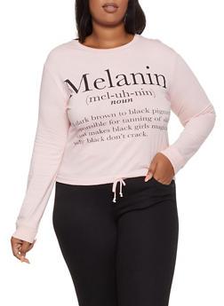 Plus Size Melanin Definition Tee - 3912033875185