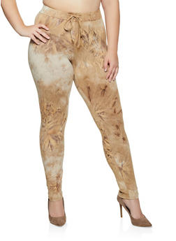 Plus Size Tie Dye Leggings | 3927072293443 - 3927072293443