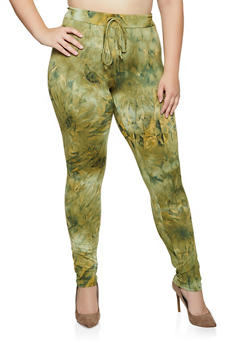 Plus Size Tie Dye Leggings | 3927072293443 - 3927072293443
