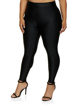 Plus Size Spandex Leggings - 3928058751033