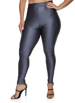 Plus Size Spandex Leggings - 3928058751033
