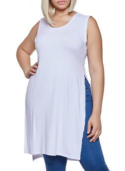3159461e1614d5 Plus Size Soft Knit Maxi Top - 3930062702620