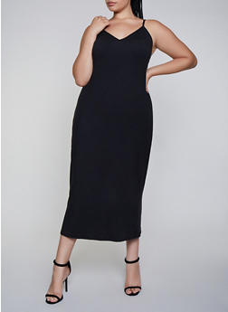Plus Size Cami Maxi Dress - 3930072245523