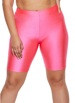 Plus Size Spandex Bike Shorts | 3931063408801 - 3931063408801