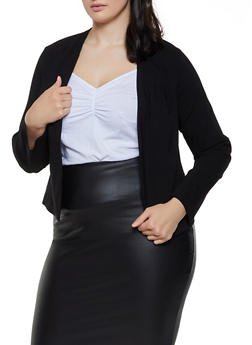 Black Stretch Blazer