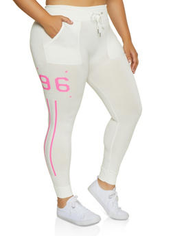 Plus Size NYC 96 BKLYN Joggers - 3951001444795