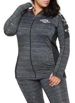 Plus Size Namaslay All Day Active Sweatshirt - 3951038341751