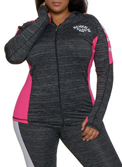 Plus Size Namaslay All Day Active Sweatshirt - 3951038341751