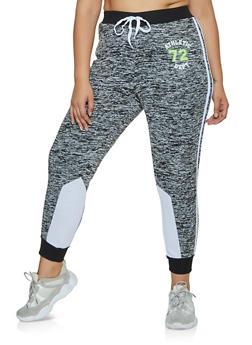 Plus Size Athletic Dept 72 Joggers - 3951038347171