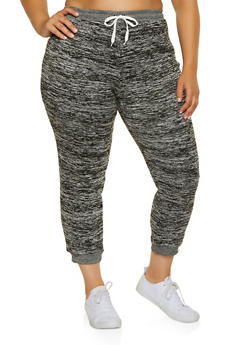 Plus Size Fleece Lined Joggers | 3951038347253 - 3951038347253