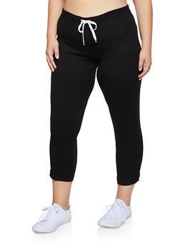 Plus Size Thermal Pants - 3951038347803