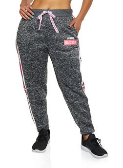 Plus Size Always Blessed Joggers - 3951051061581