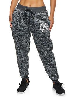 Plus Size Love Graphic Sweatpants | 3951051068361 - 3951051068361