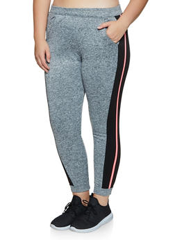 Plus Size Side Stripe Joggers | 3951063401991 - 3951063401991