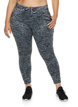Plus Size Fleece Lined Joggers   3951063402071 - 3951063402071
