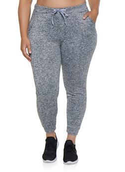 Plus Size Fleece Lined Joggers | 3951063402071 - 3951063402071