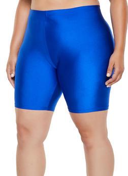 Plus Size Spandex Bike Shorts | 3960064721200 - 3960064721200