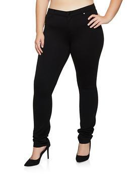 Plus Size Ponte Pants | 3961042016128 - 3961042016128