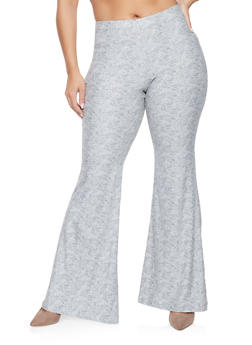 Plus Size Flared Pants - 3961060582517