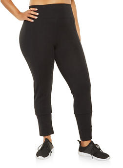 Plus Size Tummy Control Ponte Pants - 3961062700053