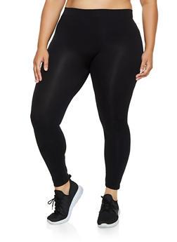Plus Size Solid Leggings | 3969042015171 - 3969042015171