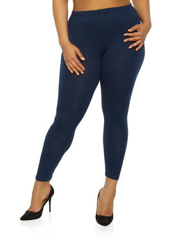8eaacf9b9f42ce Plus Size Solid Leggings | 3969054261161 - 3969054261161