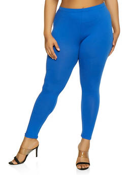 Plus Size Solid Leggings | 3969054261161 - 3969054261161