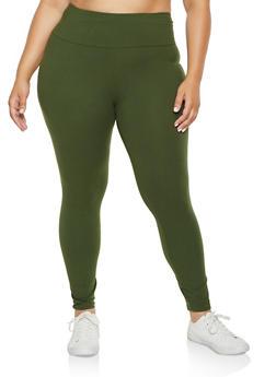 Plus Size Soft Knit Leggings | 3969061639184 - 3969061639184