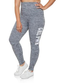 Plus Size Grl Pwr Pintuck Leggings - 3969061639188