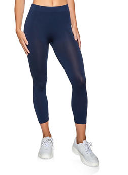 Seamless Cropped Leggings - 5067059162021