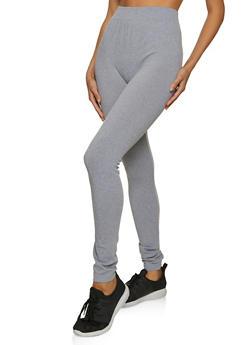 Seamless Solid Leggings - 5069059162101