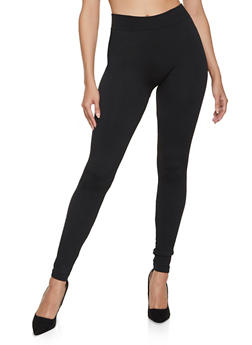 Solid French Terry Leggings - 5069059162842