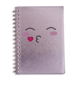 Face Graphic Spiral Notebook - 5138024903902