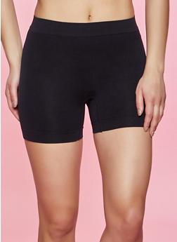 Solid Shapewear Shorts - 5150035160493
