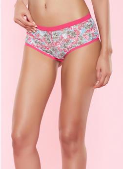 Floral Lace Panty - 5150068060783