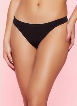 Seamless Thong Panty - 5162064870007