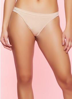 Seamless Nude Thong Panty - 5162064870009