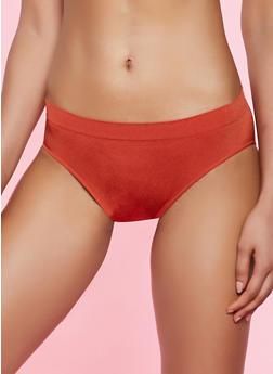 Solid Seamless Bikini Panty - 5162064873019