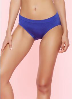 Seamless Bikini Panty - CHAMBRAY - 5162064878763