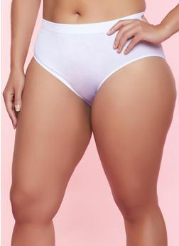 Plus Size Seamless Bikini Panty | 5166064870001 - 5166064870001
