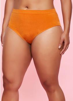 Plus Size Seamless Bikini Panty | 5166064873019 - 5166064873019